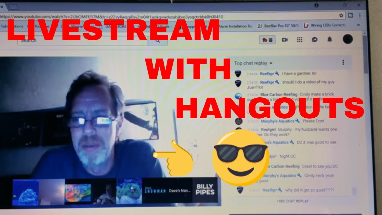 How To You Live Stream With Google Hangouts