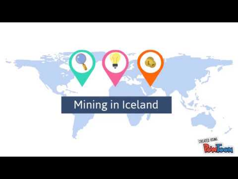 Mining in Iceland
