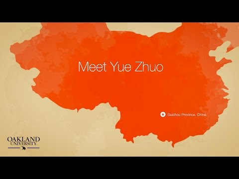 International Students and Scholars: Yue Zhuo