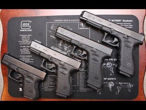 Огнестрельное оружие США - Пистолет Glock