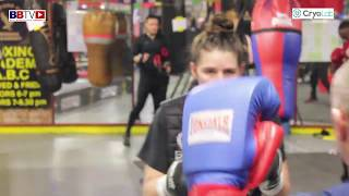 SAVANNAH MARSHALL SPEED AND FOOTWORK TRAINING FOR APRIL 4TH IN NEWCASTLE