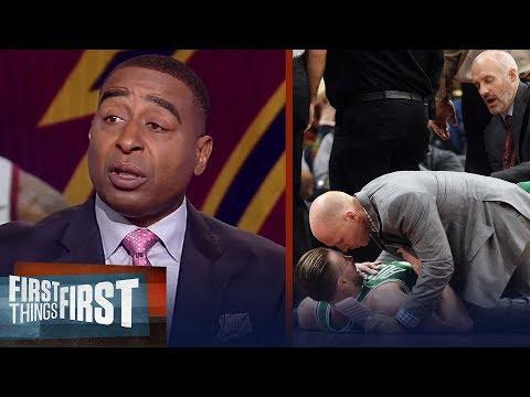 Cris Carter reacts to Gordon Hayward