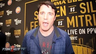 "Chael Sonnen ""If Conor makes it out 1 round, the entire sport of boxing is a fake phony myth!"""