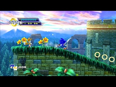 Sonic The Hedgehog 4 Episode II [SONIC And TAILS] (PSN/PS3) #78 LongPlay HD
