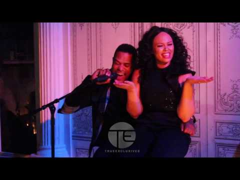 "Maxwell & Ro James Surprise Elle Varner | Perform ""Ascension"" & ""Permission"""