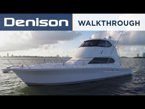 Riviera 51 Enclosed Bridge Yacht [Walkthrough]
