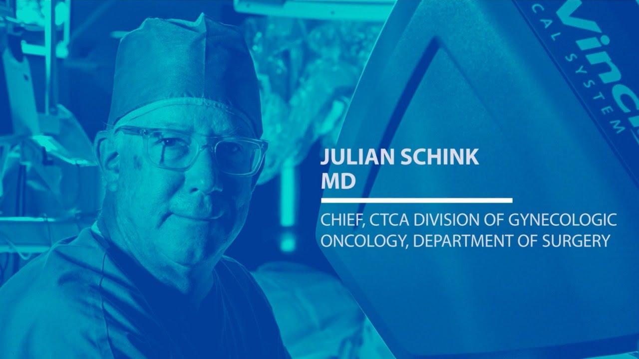 Meet Dr  Julian Schink, Gynecologic Oncologist at CTCA Chicago