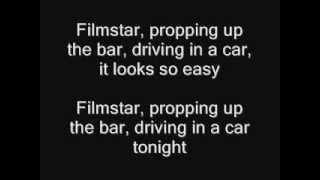 Suede: Filmstar (lyrics)