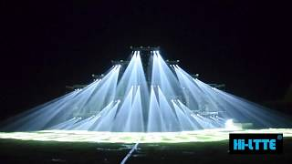 Professional  Music Festival Stage Lighting Show by Hi-Ltte in 2017