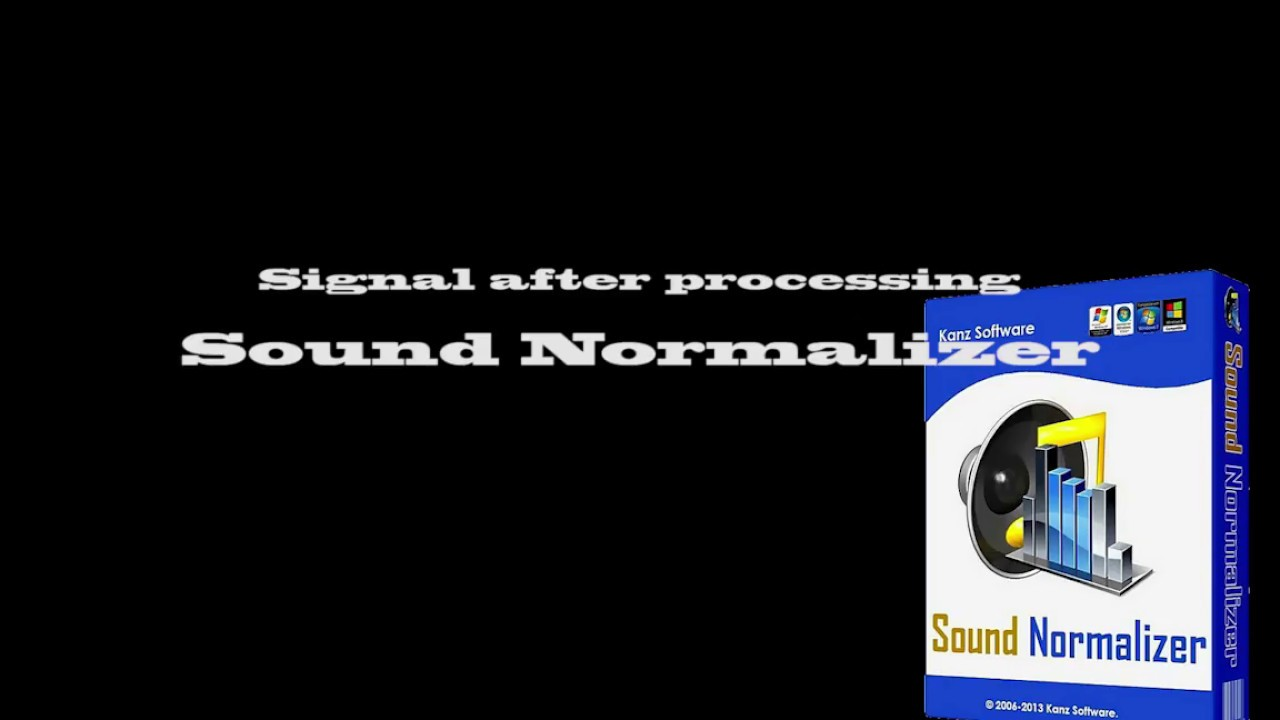 music normalizer