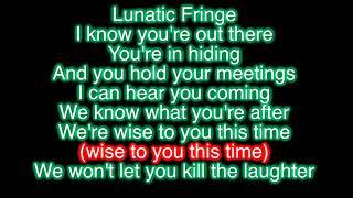 Lunatic Fringe - Red Rider (Lyric)