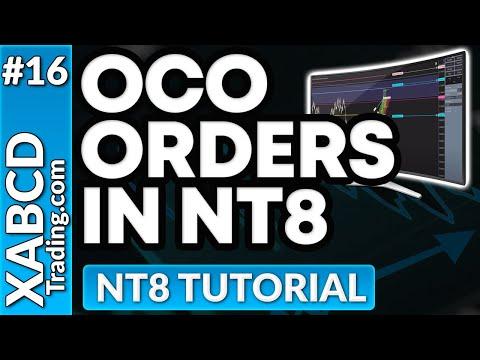 NinjaTrader OCO Orders