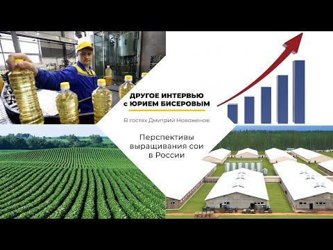 Перспективы выращивания сои в России, переработка соевого масла (Дмитрий Новоженов)