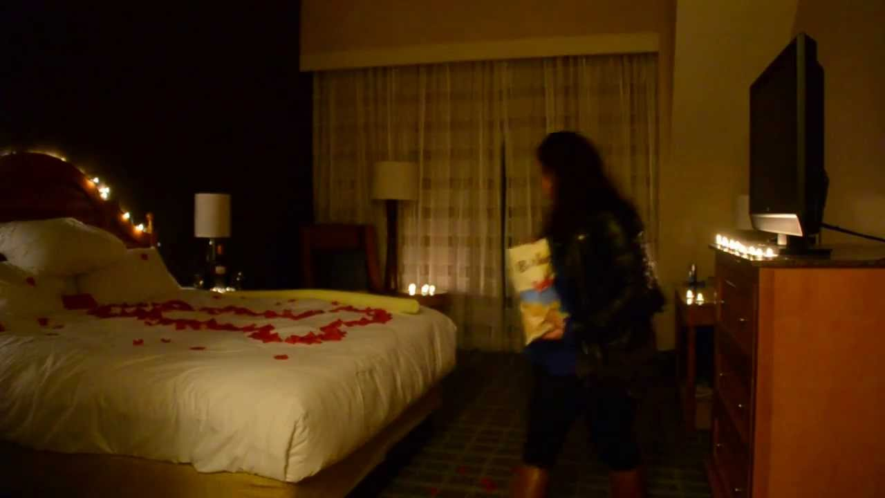Valentines Day Bedroom Valentines Day Surprise Bedroom Prank #thatsproper - YouTube