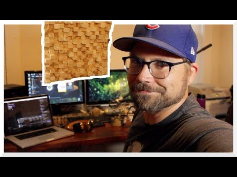How to Make a Sound Diffuser for under $50