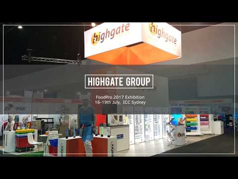 Highgate Group at FoodPro 2017 Exhibition, ICC Sydney