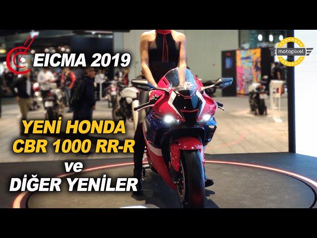 Eicma 2019'da Honda Standı...