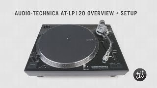 audio technica at lp120 turntable review setup guide by turntablelab com