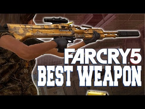 FAR CRY 5 - BEST WEAPON IN THE GAME M60 ( in-depth guide )