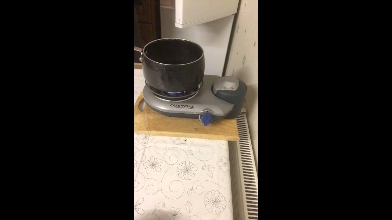 Campingaz Bistro 300.Campingaz Bistro 300 Flame Problem No Boil Youtube