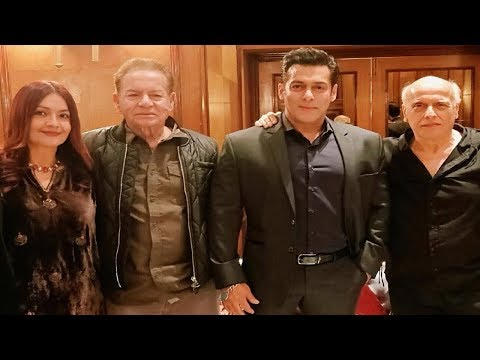 Salman Khan Family At Alia Bhatt SIs Sakshi's Wedding Reception