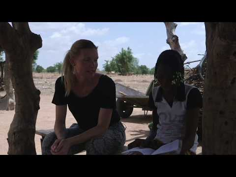 På besøg hos Valèrie i Burkina Faso