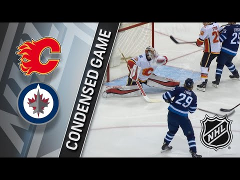 04/05/18 Condensed Game: Flames @ Jets
