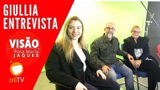Giullia Entrevista Caça Fantasmas Brasil #1126