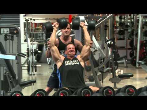 Epic Shoulder Superset    S6 E13 - Part 1   MUSCLE TV