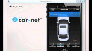 Volkswagen Car Net™ — Check Vehicle Status