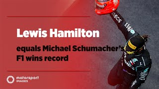 Grand Prix Greats - Lewis Hamilton equals Michael Schumacher's F1 wins record