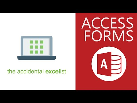 How to Create a Customer Database with forms in Access - 15 of 19