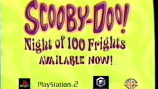 Scooby-Doo - Night of 100 Frights - Video Game (2002) Promo (VHS Capture)