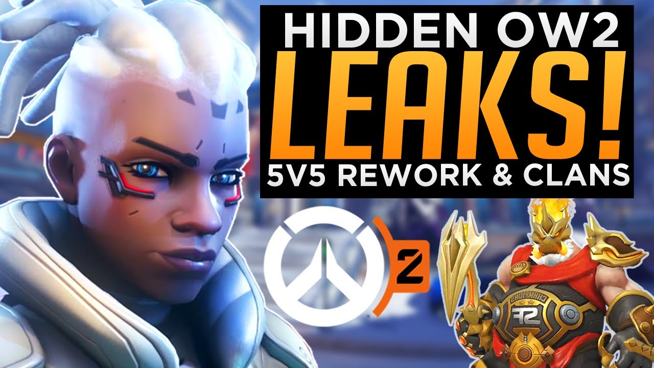 Overwatch 2 5v5 PvP Rework & Clan System LEAKS! - Sojourn Gameplay Abilities