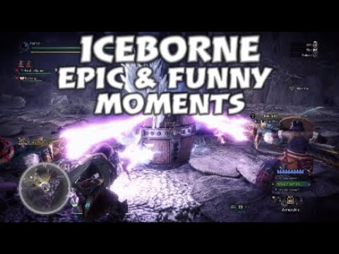 Mhw:Iceborne epic and funny moments |