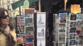 BETTINA WERNER, PARIS Part I : The City of Love, MONTMARTRE, Sacre Coeur