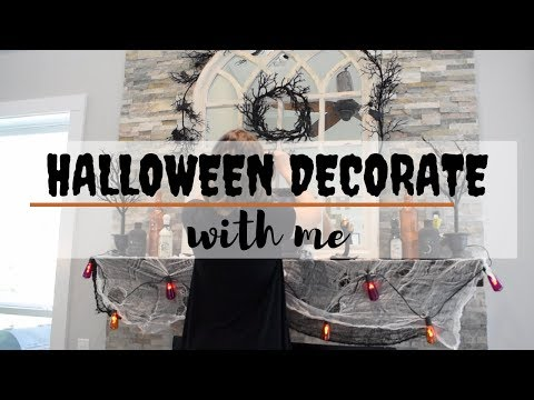 HALLOWEEN DECORATE with me | 2019