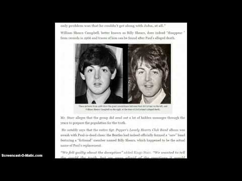 Ringo Starr: The Real Paul McCartney Died In 1966! Illuminati COVER UP!