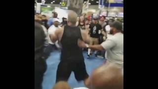 Rich Piana Vs Mac Trucc Fight New Footage !!!