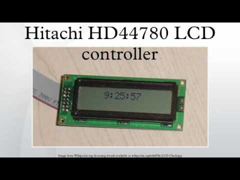 HITACHI HD44780 LCD DISPLAY WINDOWS 8 DRIVER DOWNLOAD