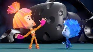 Фиксики - VR-игра «Фиксики. Большой секрет». Попади в мир фиксиков!