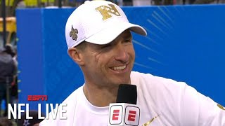 Drew Brees isn't rushing his free agency decision with the Saints | NFL Live