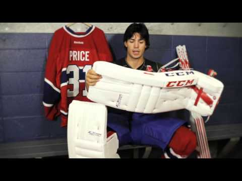 Carey Price Talks About The CCM Extreme Flex Pro Leg Pads