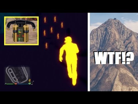 WTF... New Mysterious Underground Lights DISCOVERED!!! (GTA 5 Jetpack / Chiliad Mystery)