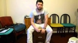 Cajon lesson nº 1. Drum Bank Music
