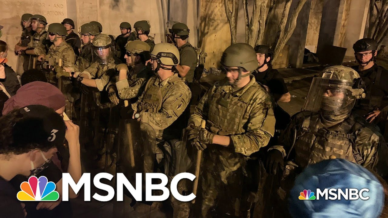 More Military Leaders Speak Out Against Trump's Protest Response   Andrea Mitchell   MSNBC
