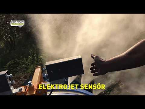 Ilaçlama Makineleri Için Ilaç Tasarrufu - Elektrojet Ağaç Sensörü