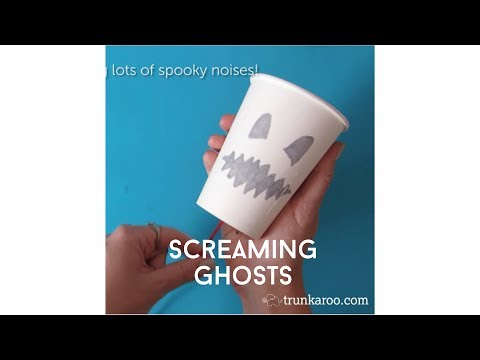 Trunkaroo - Screaming Friction Ghosts - STEM Halloween Projects Mp3
