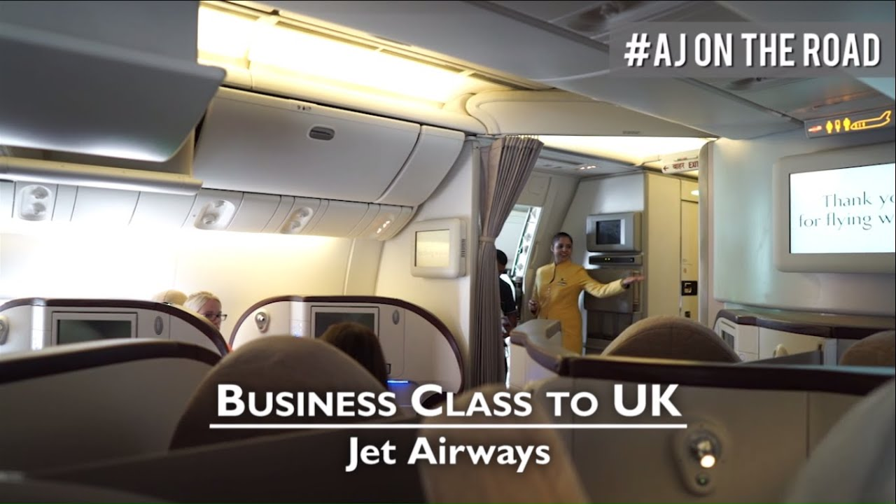 Business Class - India to UK: Jet Airways | AIRLINES - YouTube