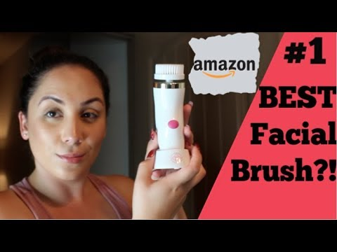 TESTING The Glamfields Facial Brush Massager | AMAZON BEST FACIAL CLEANSER?